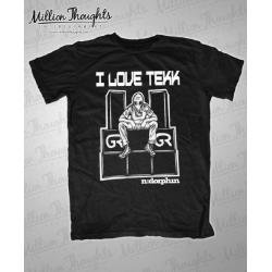 I Love Tek - Shirt - Unisex