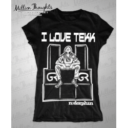 I Love Tek - Shirt - Woman